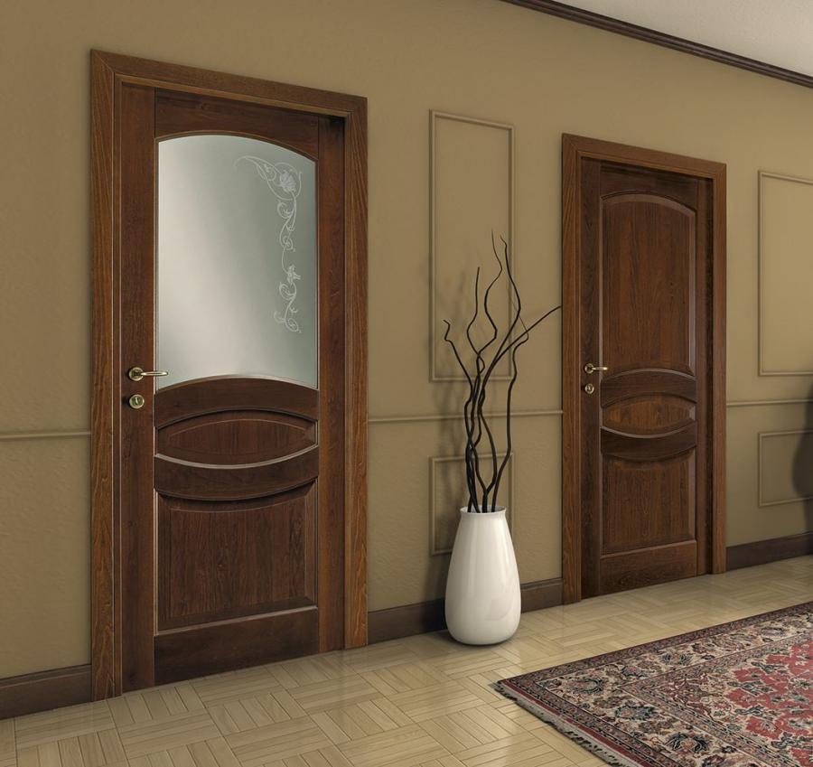 Porte per interni in legno e vetro a Venafro - Imip Petrecca Srl