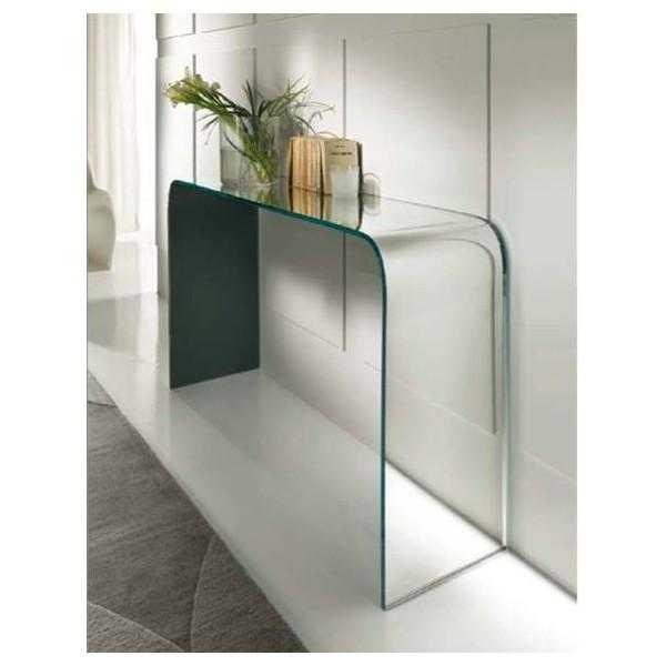 Consolle in vetro de gregorio interni srl vetro for Consolle in vetro