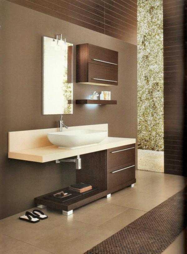 Arredo Bagno Wengè ~ idee di design per la casa