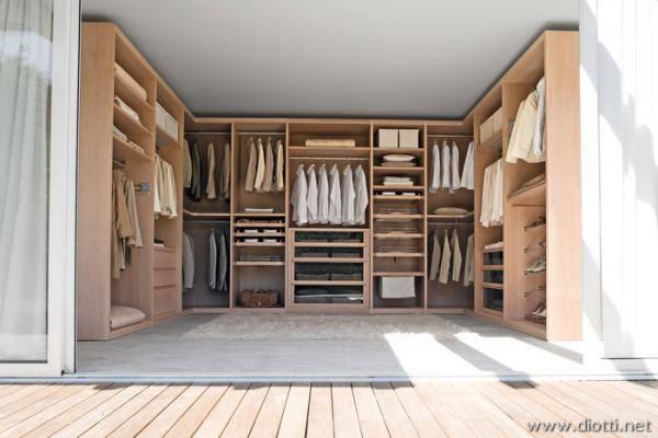 Cabina Armadio Su Tre Lati : Cabina armadio a tre lati l artigiano del legno