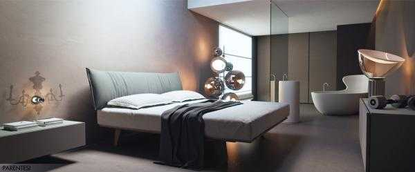 Cool parentesi zona notte arredamento casa bologna with for Man arredamenti roma