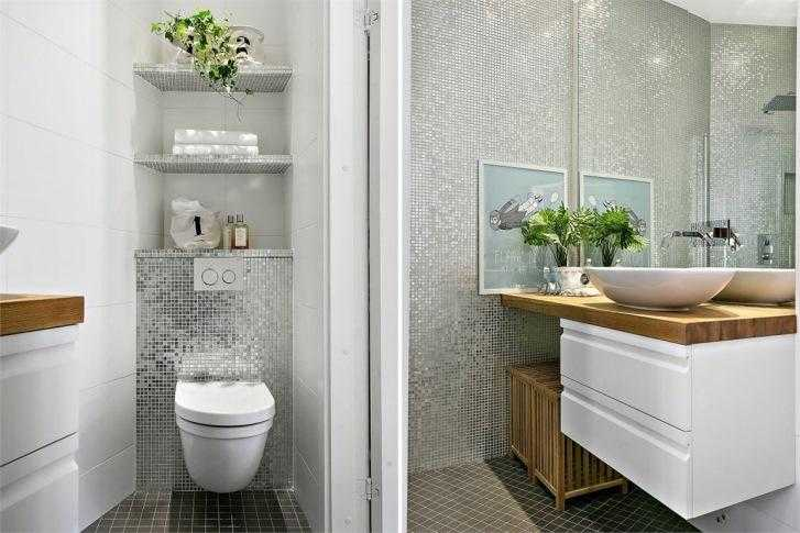 Un piccolo bagno di servizio idee di design nella vostra for Idee arredo bagno piccolo