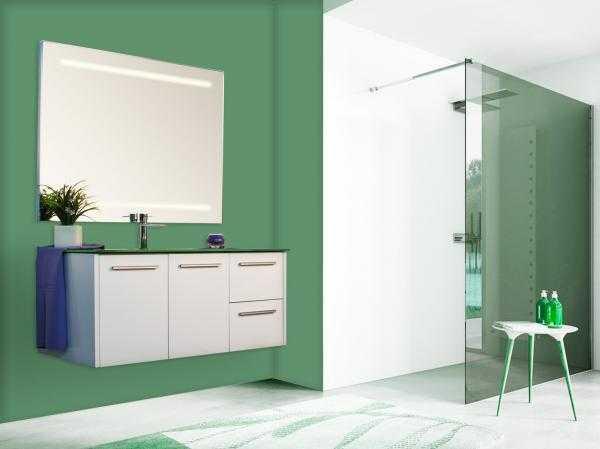 Offerte mobili moderni sospesi laccati su misur for Offerte mobili bagno moderni