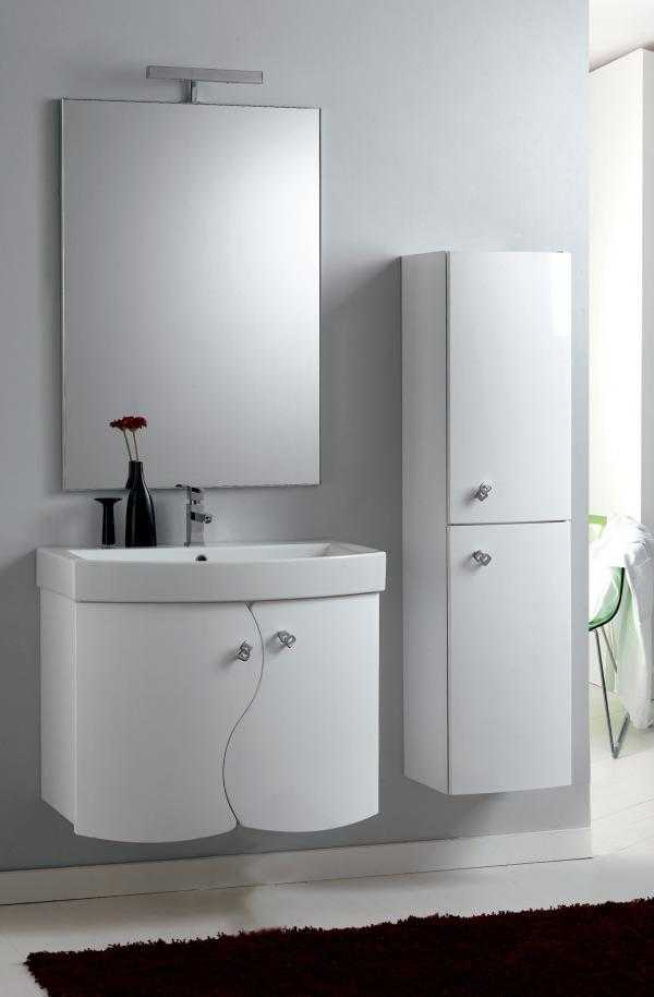 Offerte mobili moderni sospesi laccati su misur for Offerta mobili bagno sospesi