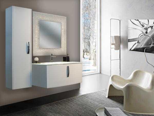 Offerte mobili moderni sospesi laccati su misur claris arredo bagno vomero mobili box - Claris arredo bagno ...
