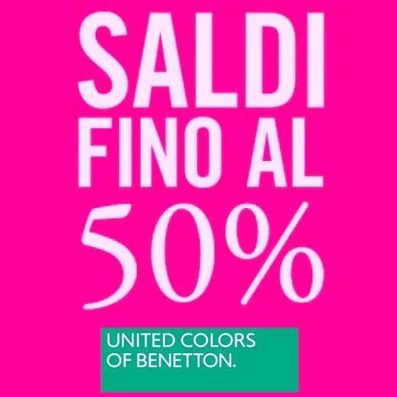 Saldi invernali Benetton Marcolfa Bologna - Benetton Store Marcolfa