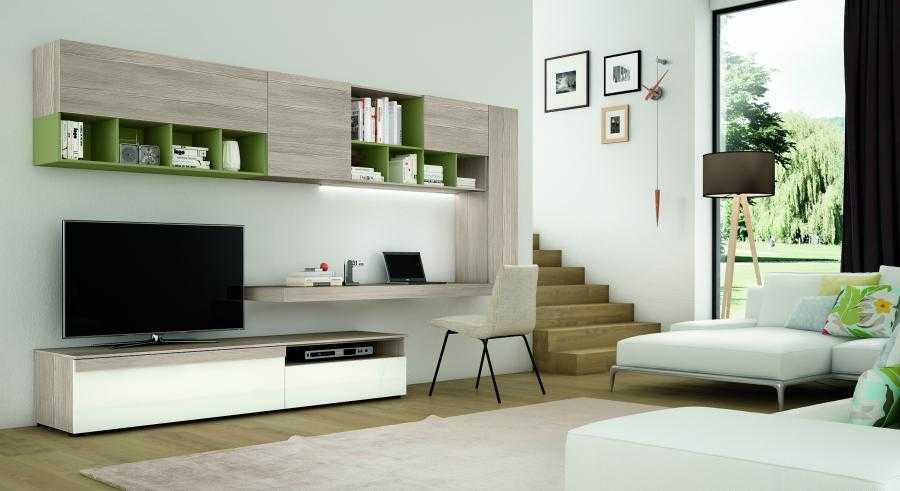 arredamento soggiorno stile minimal modena ellezeta