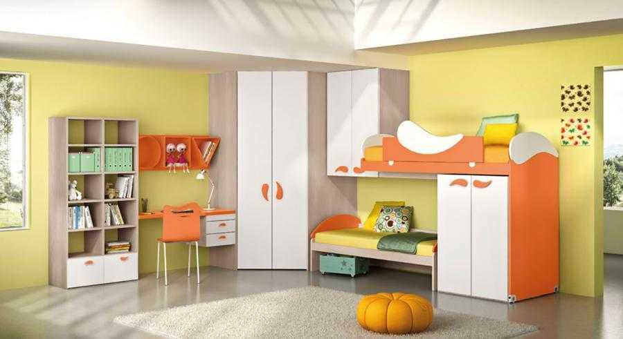 Camerette moderne per bambini e ragazzi falconara b b for Letti bimbe