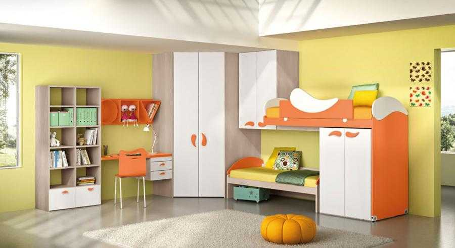 Camere Per Bambini Moderne : Camerette moderne per bambini e ragazzi falconara b b arredamenti