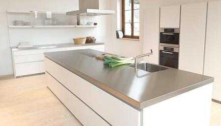 Top e piani da cucina su misura Camerano - Marc Inox ...