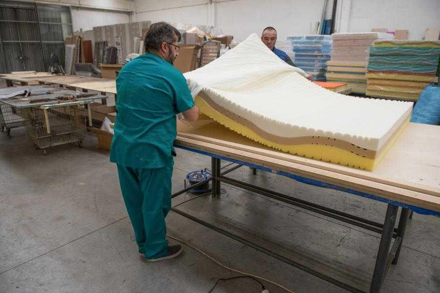 Materasso in lattice prezzo da fabbrica Tolentino -