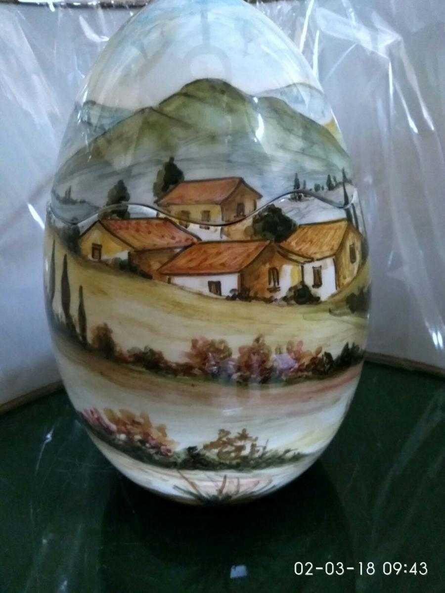 Uova Di Pasqua Ceramica.Uova Di Pasqua In Ceramica A Mugnano Del Cardinale Tedeschi Giuseppe