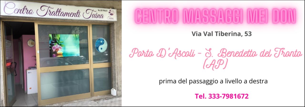 Centro Massaggi Mei Don Porto D Ascoli